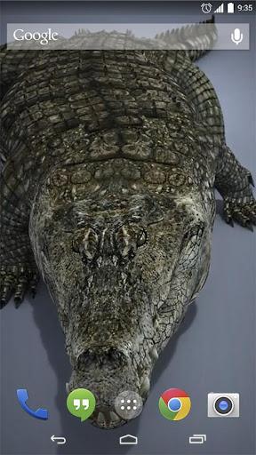 Mega Crocodile Live Wallpaper