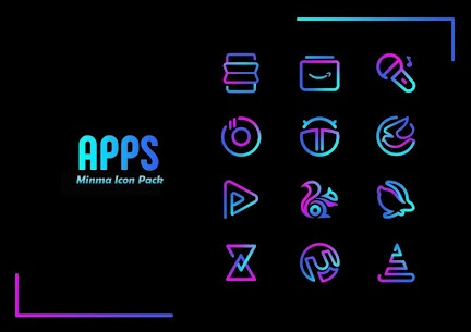Minma Pro Icon Pack (MOD, Paid) v1.1 2