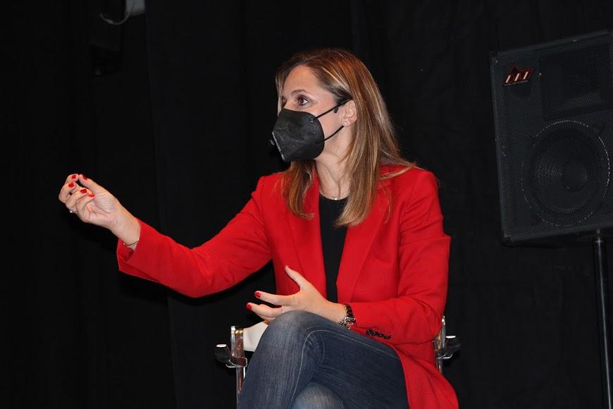 Maribel Sánchez, delegada de Gobierno en Almería.