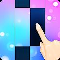 Piano White Go! - Magic World on Music Tiles icon