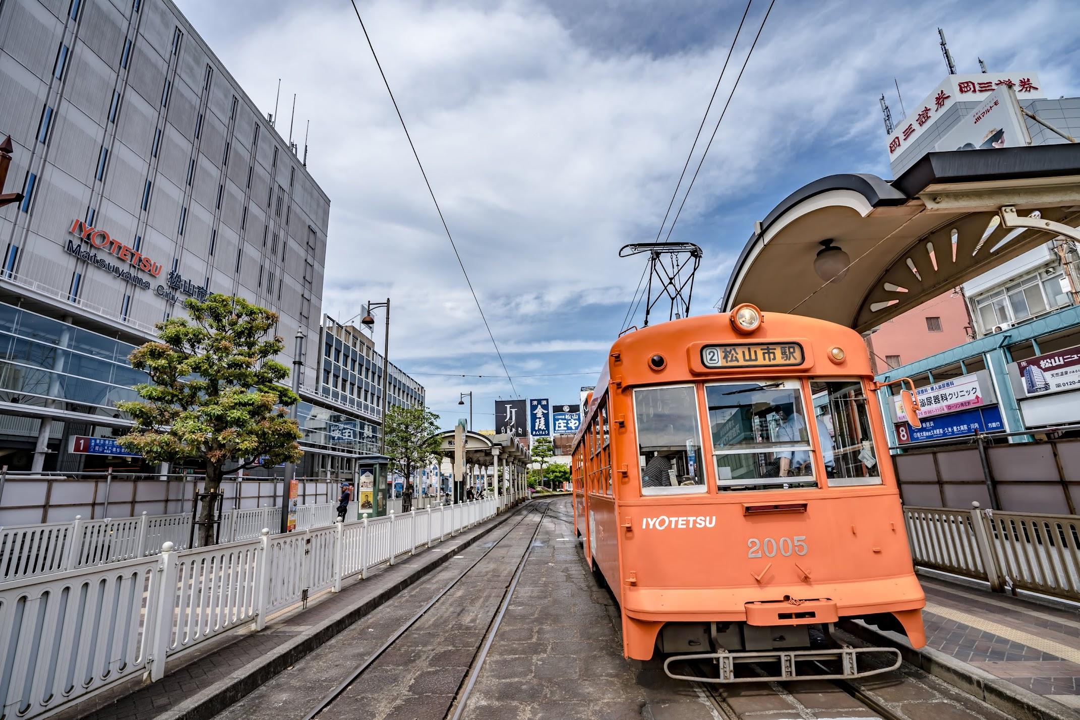 Ehime Matsuyama Tram