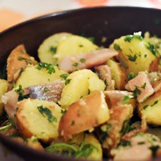 Smoked Herring and Potato Salad.