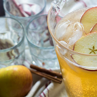 Sparkling Golden Apple Punch