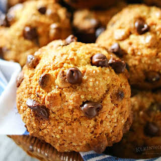 Chocolate Milk Muffins.