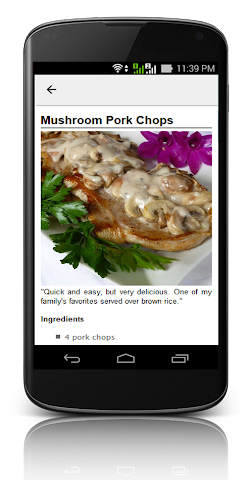 android Pork Chop Recipes ! Screenshot 6
