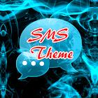 蓝火主题GO短信 icon
