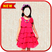 Kids Girl Fashion Photo Suit
