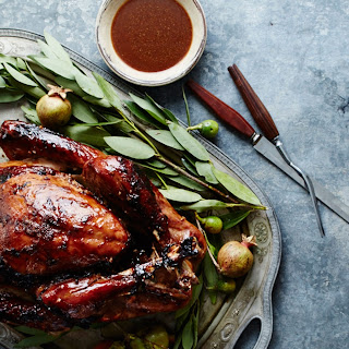 Tamarind-Glazed Roast Turkey
