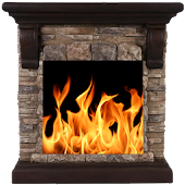 Live Fireplace : Sleep & Relax