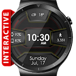 Daring Carbon HD Watch Face Icon