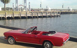 Ford Mustang Convertible Rent Victoria