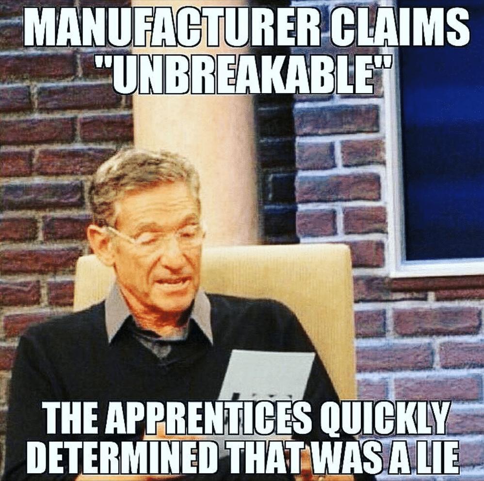 unbreakable lie