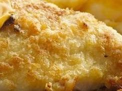 Oven Fried Potato Dipped Chicken Recipe