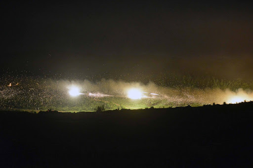 Army of Serbia Conducts Exercise in Night Conditions