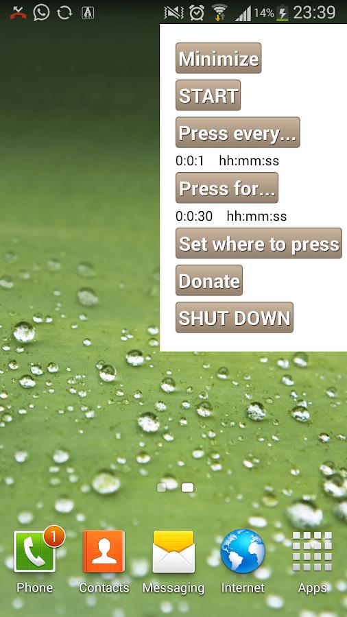 auto clicker screenshot