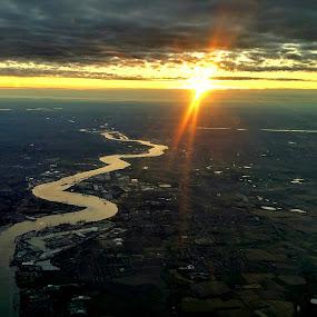 Over London by Poli Paunova - Landscapes Sunsets & Sunrises (  )
