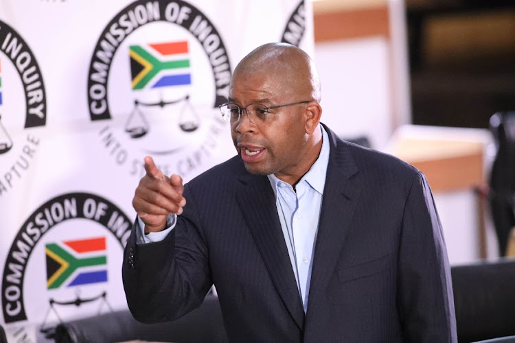 Former Prasa CEO Lucky Montana pointed fingers at the ANC when he testified at the state capture inquiry on Monday.