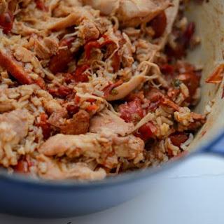 Portuguese Chicken & Chorizo Jambalaya.