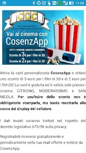 CosenzApp- screenshot thumbnail