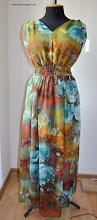 Photo: летнее платье в пол из шифона