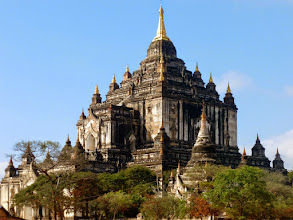 Photo: This temple was completed in 1091.  Known for it's beauty, it is the best preserved of the four main temples in Bagan.