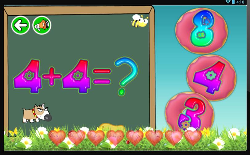 free fun brain for kids math play games