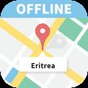 Eritrea offline map icon