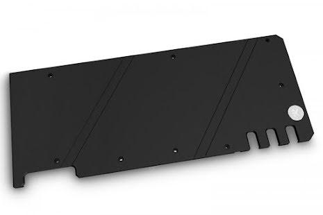 EK bakplate for EK-Quantum Vector Trio RTX 3080/3090 Backplate - Black