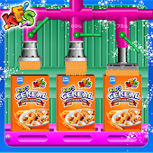 Kids Cereal Food Factory - Cooking Game