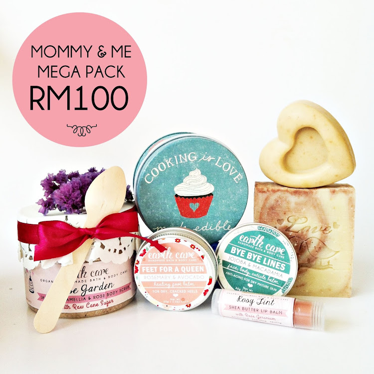 Mommy & Me Mega Pack by Earth Care Soaps