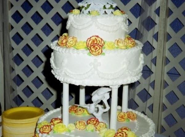 My Wedding Cake Recipe