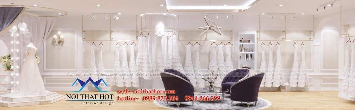 thiết kế studio áo cưới tinh tế