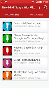 Hindi Songs With Million Views - náhled