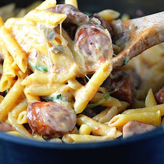 Smoked Chicken Penne Pasta Recipes.