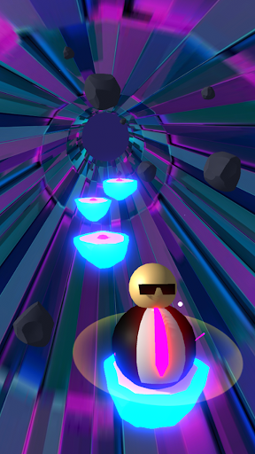 Wobble Man Rhythm Jumper! apktram screenshots 1