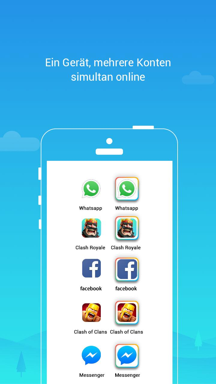 Parallel Space – Multi Accounts & Two face v4.0.8844 [Pro] APK [Latest]