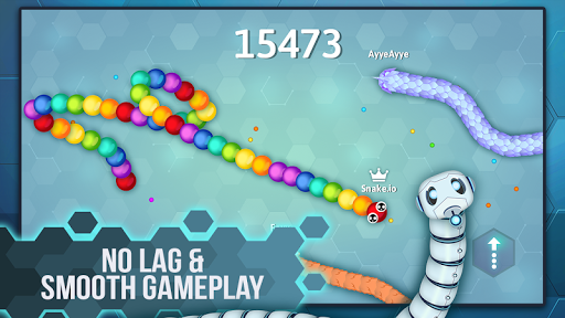 Snake.io - Fun Addicting Arcade Battle .io Games apktreat screenshots 2