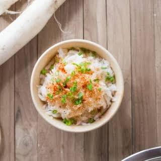 Daikon Radish Salad.