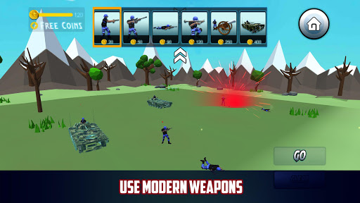 Extreme Epic Modren Battle Simulator 3D 2018 - screenshot