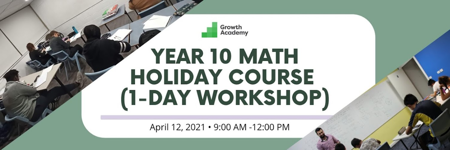 Year 10 Math Holiday Course (1-day workshop)