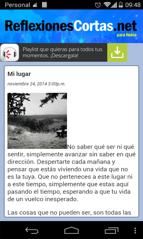 Reflexiones Cortas- screenshot