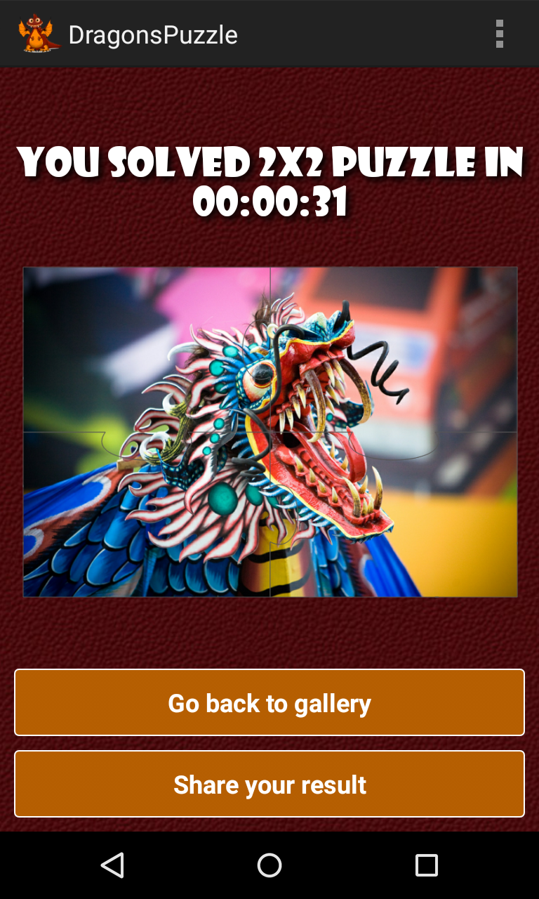 Скриншот Драконы головоломка