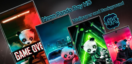 Neon Panda Boy Hd Wallpaper And Background Apps En Google Play