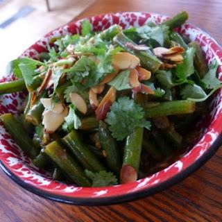 The Occasional Vegetarian's Bihari Green Beans Masala.