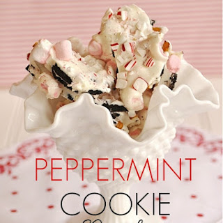 Peppermint Cookie Bark