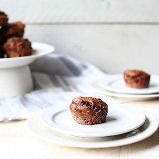Vegan Chocolate Protein Banana Muffins.