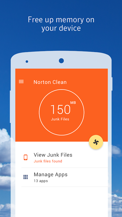 Norton Clean, Junk Removal- screenshot