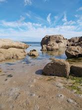 Photo: Le phare de Gatteville vu depuis les rochers de Barfleur