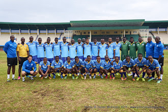 Photo: Squad Picture [Rwanda Training Camp before AFCON2017 Qualifier Vs Ghana on 5 Sep 2015 in Kigali, Rwanda.  Photo © Darren McKinstry 2015]