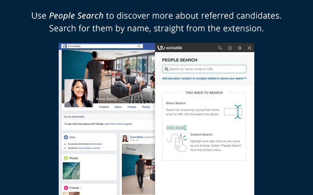 People Search - email and resume finder